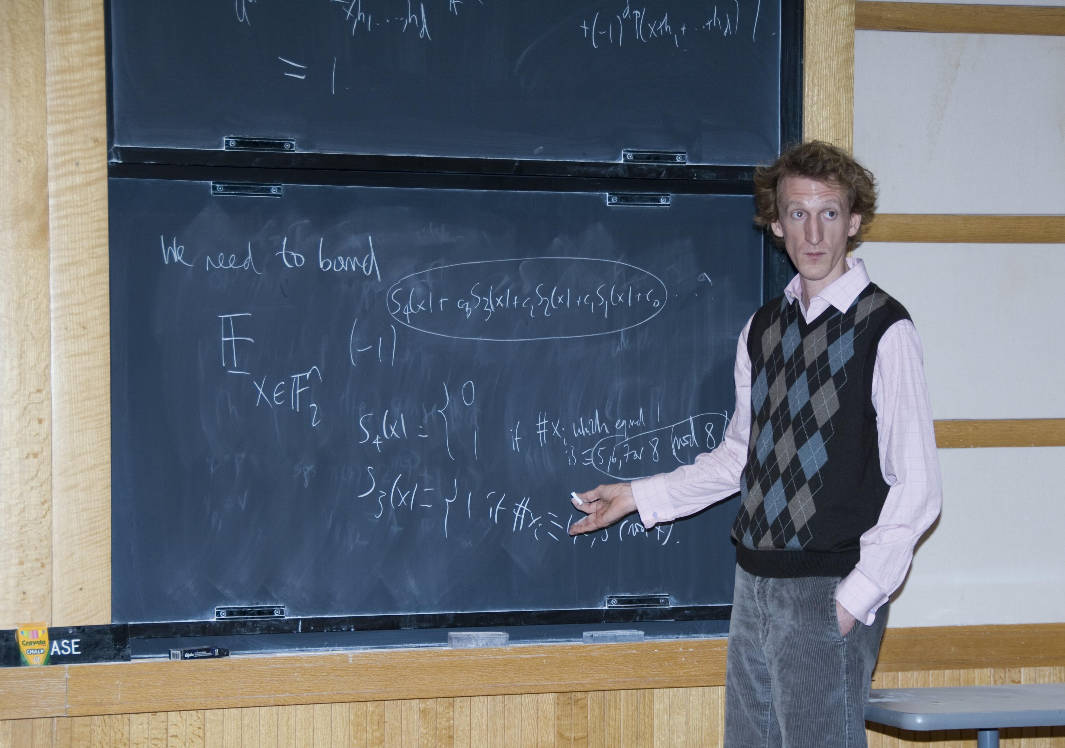Arithmetic Combinatorics<br> IAS, Princeton, Oct 10-12, 2007